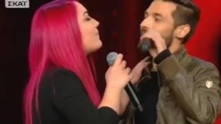 The Voice |  Ελένη Τζαβέλα vs Πασχάλης Μπούσδρος | 1o Battle