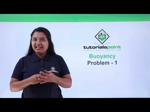 Class 9th Physics - GRAVITATION - Buoyancy problem 1