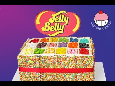 JELLY BELLY CAKE & BEAN BOOZLED Challenge with JAMIE'S WORLD