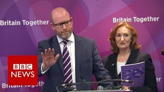 Journalists heckled at UKIP manifesto launch - BBC News