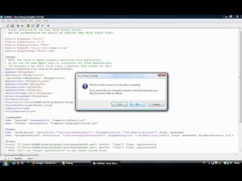 C++: Create a setup of your application in windows.