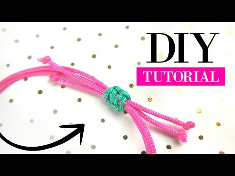 How to Make a Sliding Knot  - DIY Video Jewelry Making Tutorial
