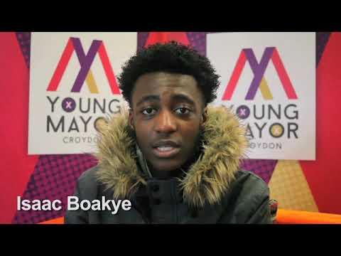 Croydon Young Mayor candidate - Isaac Boakye