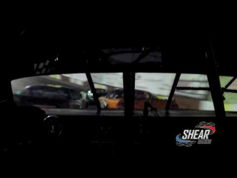 Rockford Speedway racing action - In car GoPro with Spotter Audio 6-18-16