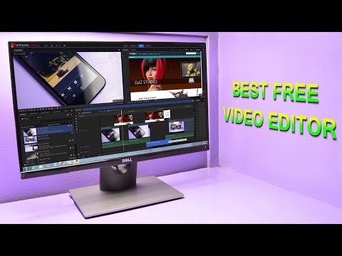 Best Video Editing Software for Windows 7,Windows 8(8.1),Windows 10 & Mac (FREE) 2017