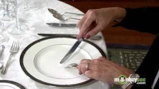Basic Dining Etiquette - Using Utensils