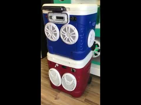 Build Your Own Custom Cooler Radio Ice Chest Stereo