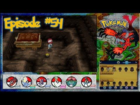 Pokemon Y - Exploring The Terminus Cave - Episode 54