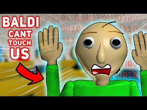WE FINALLY GLITCHED OUT BALDI!!! (Invincibility Glitch) | Baldi's Basics In Education and Learning