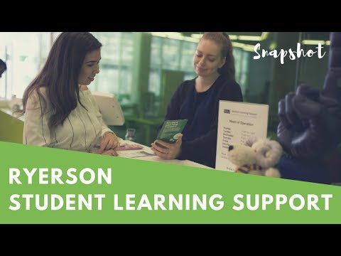 Snapshot: Student Learning Support