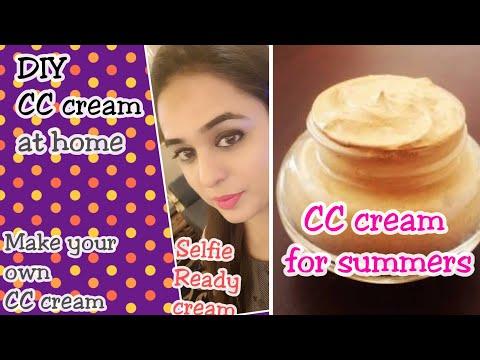 DIY CC cream for SUMMERS / Selfie cream for perfect selfies this summers / BEST CC CREAM FOR SUMMERS
