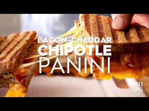 Bacon-Cheddar Chipotle Panini | Cooking: How-To | Better Homes & Gardens