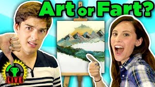 Following A Bob Ross Painting Tutorial CHALLENGE!