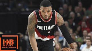 Sacramento Kings vs Portland Trail Blazers 1st Half Highlights / Week 5 / 2017 NBA Season