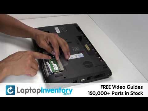 Gateway NV55C NV59C RAM Memory Replacement Upgrade- Install, Replace - Laptop Notebook 2GB 4GB