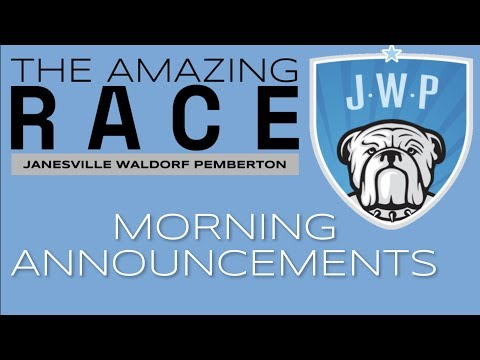 JWP Elementary Daily Announcements 2.9.18
