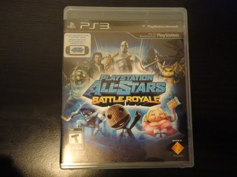 Playstation All-Stars Battle Royale Unboxing!