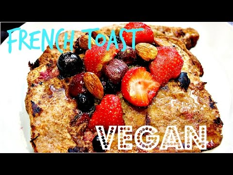 VEGAN BREAKFAST: EASY FRENCH TOAST | Cheap Lazy Vegan