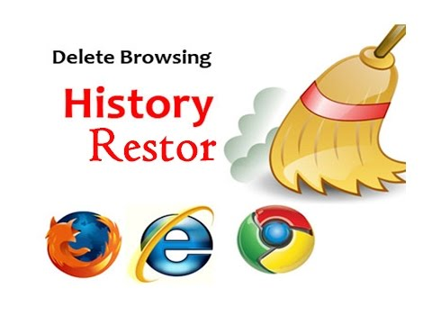 how to restore deleted browsing history and bookmark
