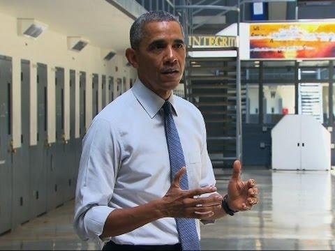 Obama Visits Prison, Calls for Fairer Justice