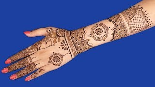 Latest mehndi design for hands | Full Hand mehndi design for stylish girls | henna tattoo #150