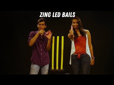 How do LED bails work in Cricket? ZING bails at Rs 2000?