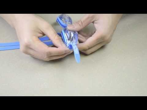 How To Assemble A MOSI Kids Swimming Goggle SGMS