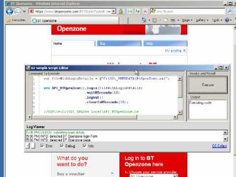 O2 Script - API for BTOpenZone