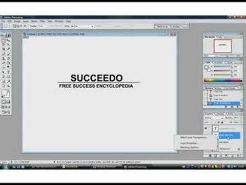 Quick and Easy Way to Make a Logo With Photoshop