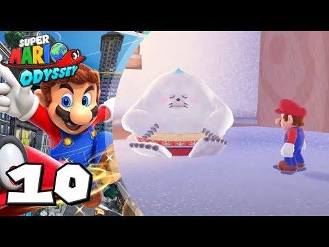 Super Mario Odyssey #10: ¡Aquí se nos congela el bigote!