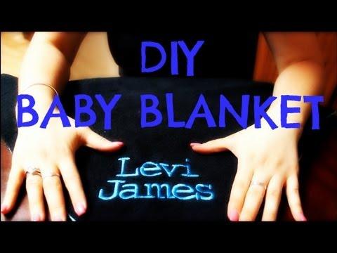 *Sewing DIY* Simple Baby Blanket