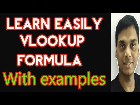 How to use Vlookup formula in Excel easily with examples   Vlookup in multiple sheets   Helping abhi