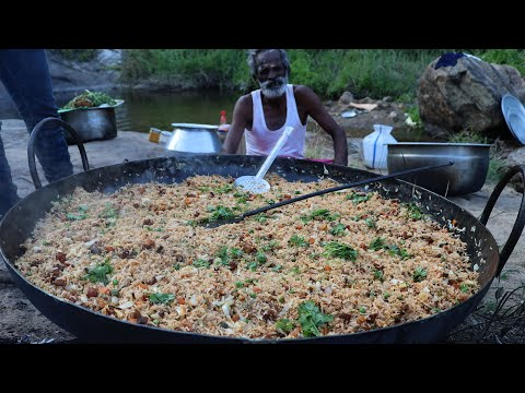 Xxx Mp4 Country Chicken FRIED RICE Prepared By My Daddy ARUMUGAM Village Food Factory 3gp Sex