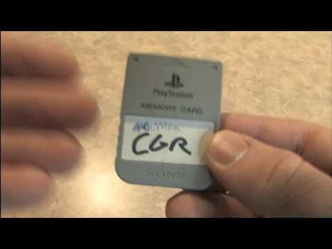 Classic Game Room HD - PS1 MEMORY CARD review