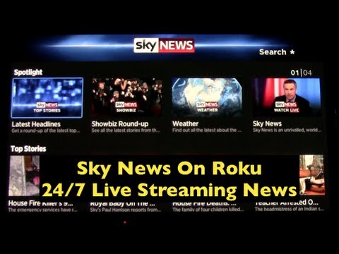 Roku Announces Sky News ~ Live News Streaming 24/7 On Roku