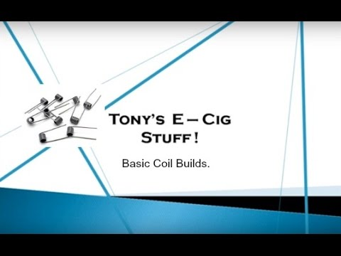 Vaping Tips -   DIY - Making a Basic Coil from Kanthal Wire.