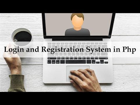 How to Make Login and Registration Form in Php