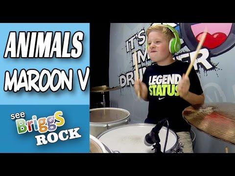 Animals Maroon 5 Drum Cover
