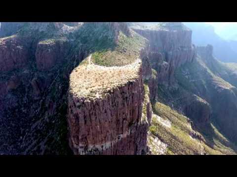 Flatiron drone video - Superstition Mountains