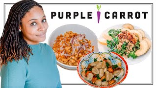 2020 PURPLE CARROT AN HONEST REVIEW | PLANT BASED MEAL DELIVERY | IS IT PLANT BASED NEWBIE FRIENDLY?