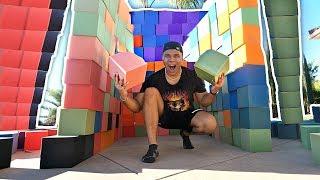 DIY GIANT FOAM PIT HOUSE (10,000+ FOAM BLOCKS)