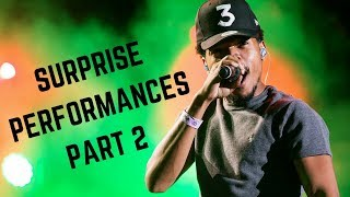 Rappers Make Surprise Performances Compilation Part 2 (Chance, Kanye, Jay-Z & MORE)
