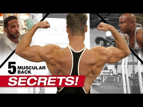 INTENSE Back Workout w/ Connor Murphy & Brandon Carter