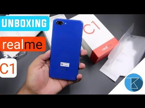 Unboxing Realme C1 Smartphone   Realme C1   Techno Buzzer