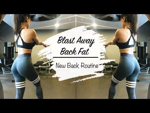 BLAST AWAY BACK FAT | New Back Exercises