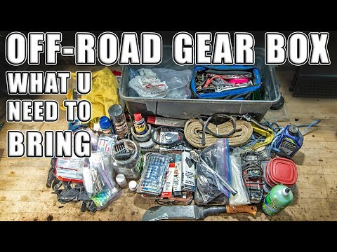 Xxx Mp4 What You NEED To Bring Riding With You SXS UTV Off Roading Gear Box Overview Essential Tools 3gp Sex