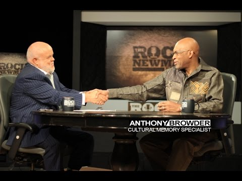 Anthony Browder on The Rock Newman Show