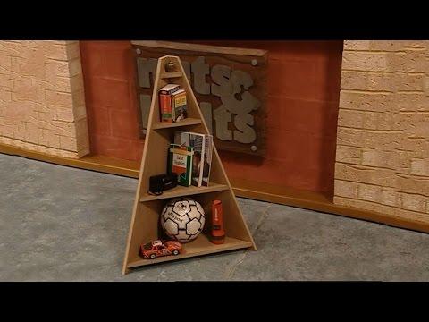 Easy DIY Corner Shelf