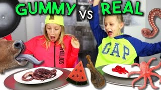 GUMMY vs REAL 2