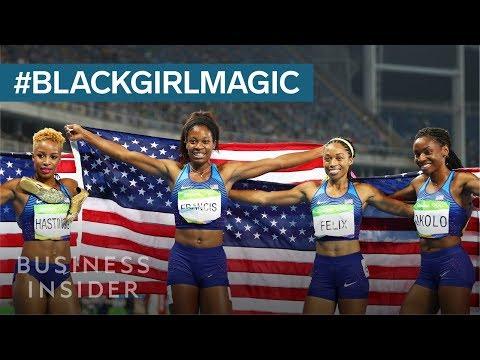 Decorated Olympian Allyson Felix on the importance of #BlackGirlMagic